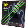 Struny do elektrycznej gitary basowej DR Neon Green Medium