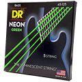 Struny do elektrycznej gitary basowej DR Neon Green Medium 5