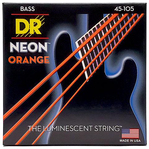 dr neon orange medium electric bass strings. Black Bedroom Furniture Sets. Home Design Ideas