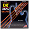 Saiten E-Bass DR Neon Orange Medium 5 (2)