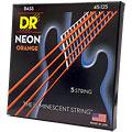 Cuerdas bajo eléctrico DR Neon Orange Medium 5