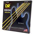 Струны для электрической бас-гитары  DR Neon Yellow Medium 5
