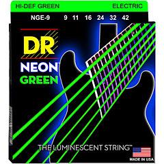 DR Neon Green Lite « Corde guitare électrique