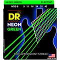 DR Neon Green Lite « Saiten E-Gitarre