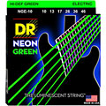 Set di corde per chitarra elettrica DR Neon Green Medium