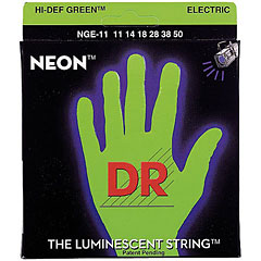 DR Neon Green Heavy « Saiten E-Gitarre