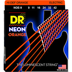 DR Neon Orange Lite « Saiten E-Gitarre