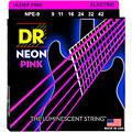 DR Neon Pink Lite « Saiten E-Gitarre