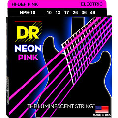 DR Neon Pink Medium « Corde guitare électrique