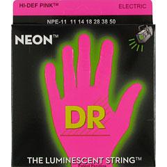 DR Neon Pink Heavy « Corde guitare électrique