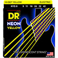 DR Neon Yellow Lite « Saiten E-Gitarre