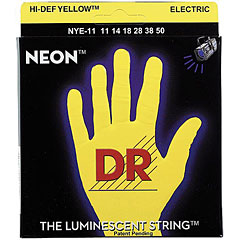 DR Neon Yellow Heavy « Corde guitare électrique