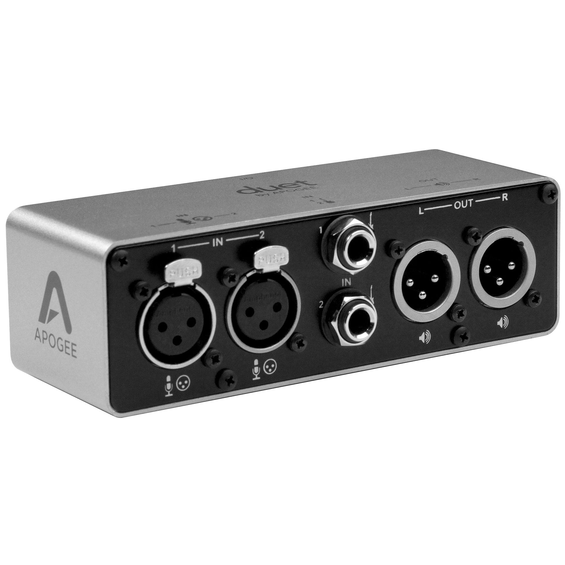 apogee duet 2 breakout box audio interface. Black Bedroom Furniture Sets. Home Design Ideas