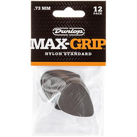 Púa Dunlop Max-Grip Nylon (0,73 mm / 12 pcs)