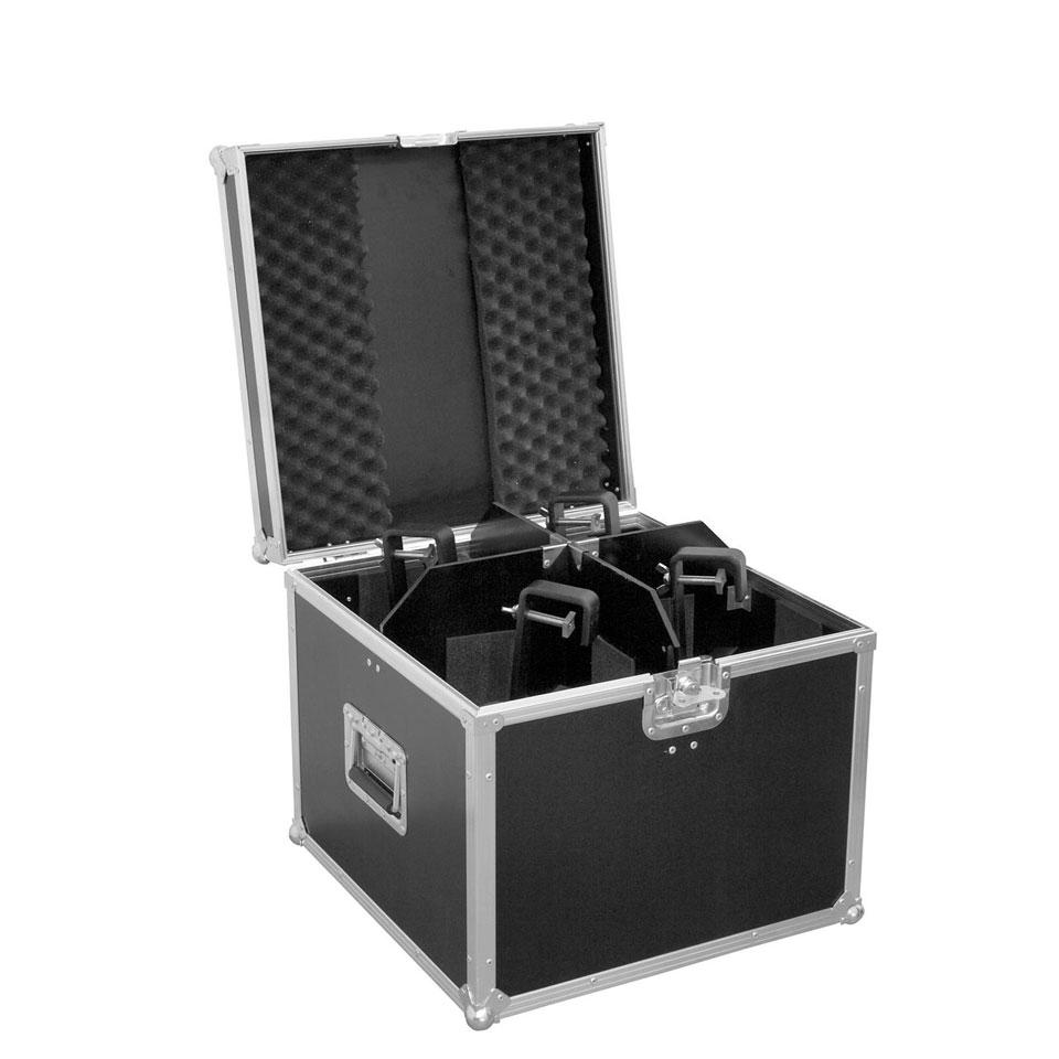 ROADINGER Scheinwerfer Transport Case Box für 4x PAR-56 Spot EP-56 PAR 56 lang