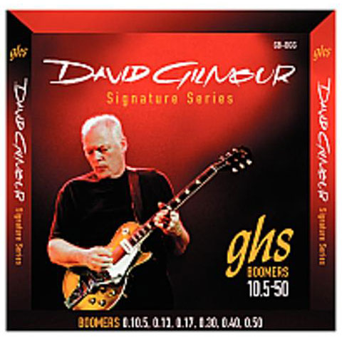 Cuerdas guitarra eléctr. GHS 0105-050 GB-DGG David Gilmour Signature
