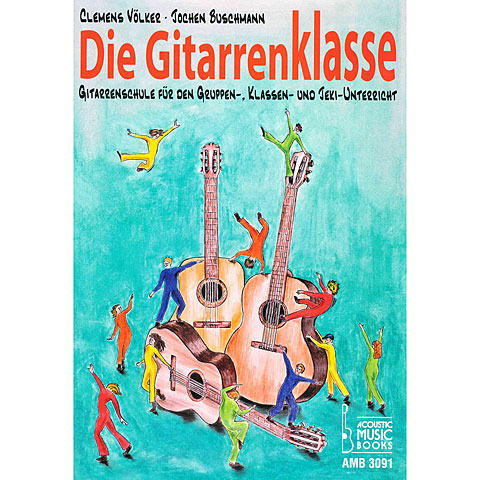 Leerboek Acoustic Music Books Die Gitarrenklasse