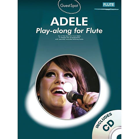 Music Sales Adele for flute
