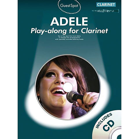 Music Sales Adele - Play-along for Clarinet