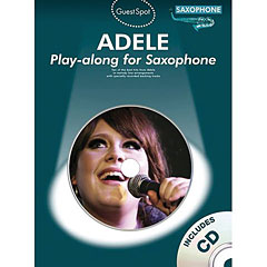 Music Sales Adele - Play-along for Saxophone « Play-Along