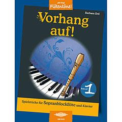 Holzschuh Jede Menge Flötentöne Vorhang auf! Bd.1 « Libro de partituras