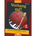 Libro di spartiti Holzschuh Jede Menge Flötentöne Vorhang auf! Bd.1