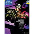 Libro de partituras Schott Schott Vocal Lounge Sing Movie Classics