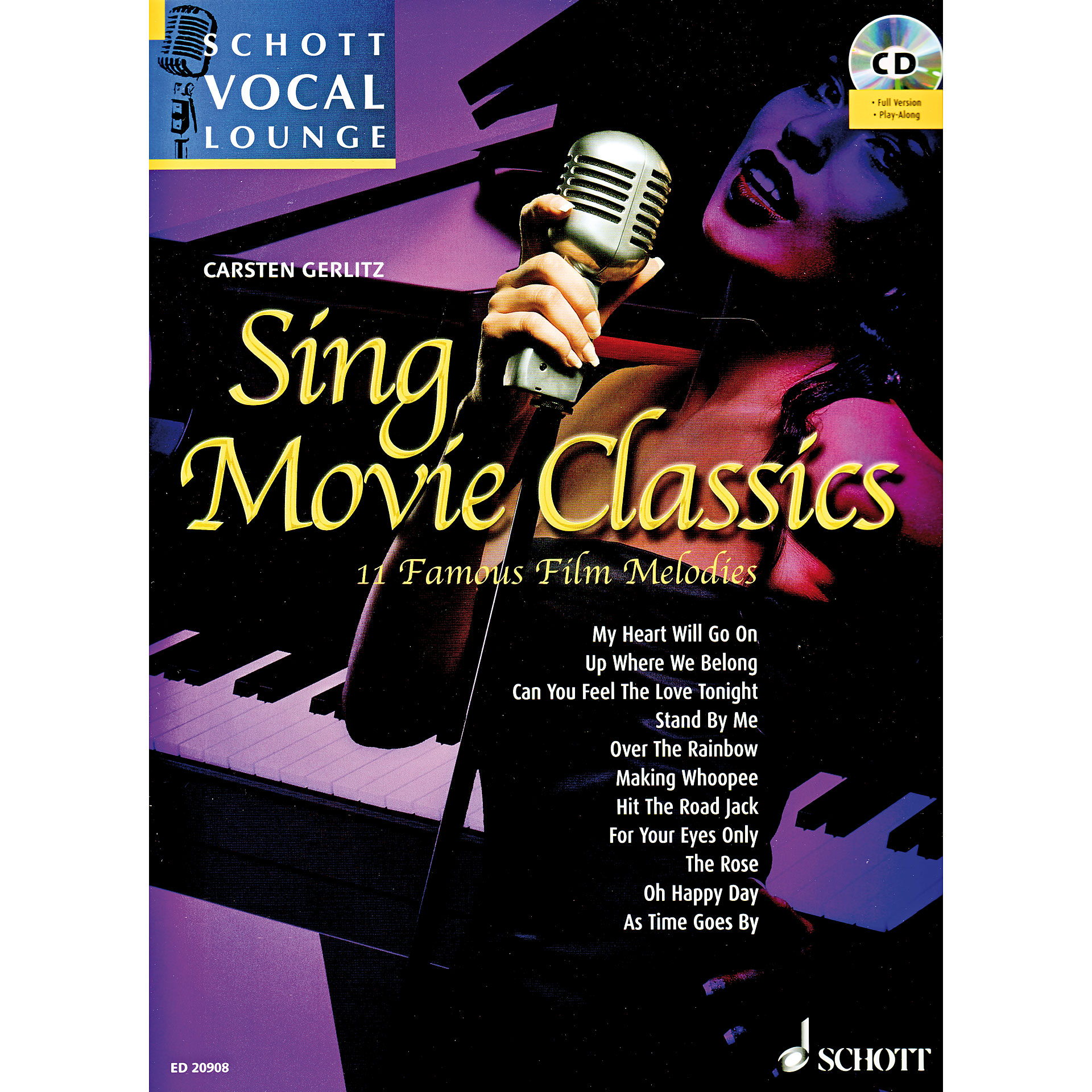 Schott schott vocal lounge sing movie classics notenbuch for Classic house vocals acapella