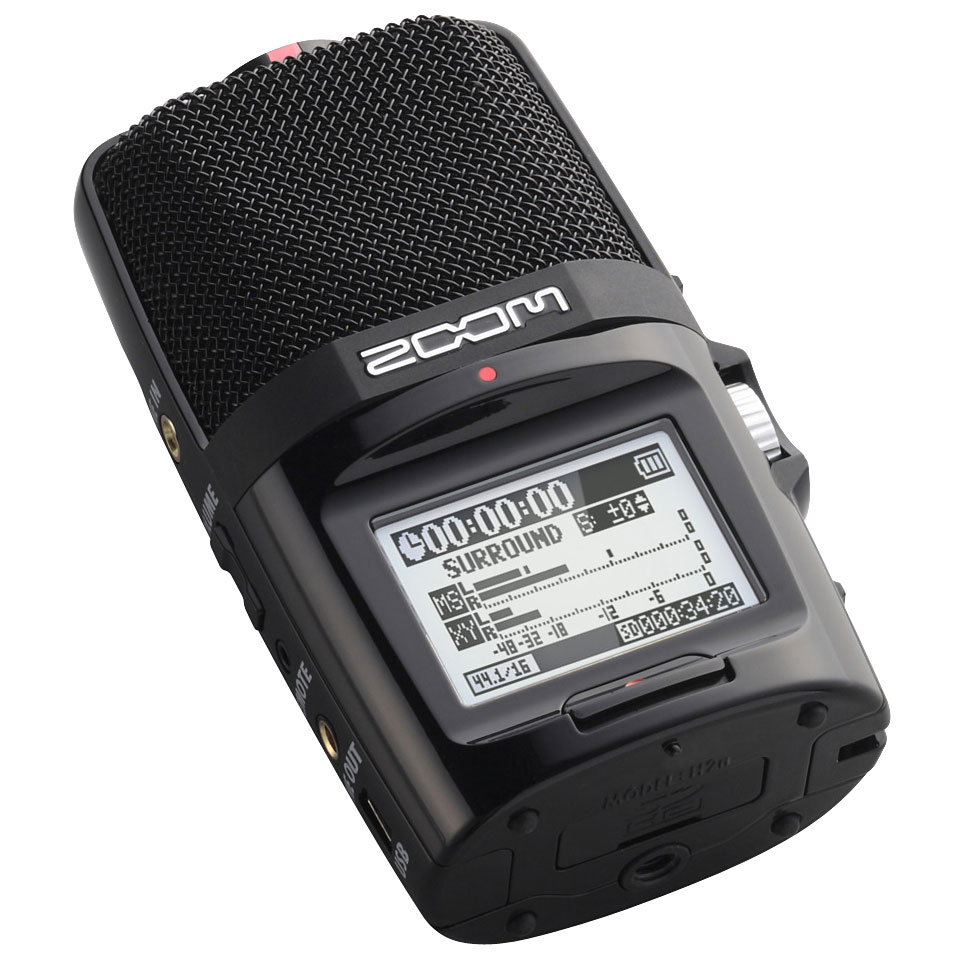 Zoom H2n Digital Recorder Musik Produktiv Mini Metronome By 555