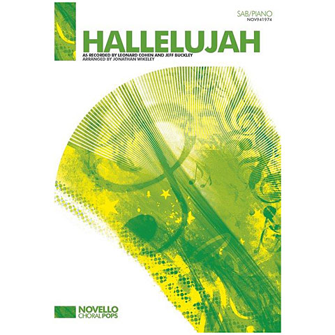 Notas para coros Novello Hallelujah