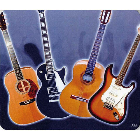 Mousepad AIM Gifts Mouse Mat - Guitar Design