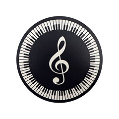 AIM Gifts Mouse Mat - Treble Clef and Keyboard Design