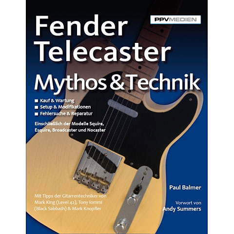 PPVMedien Fender Telecaster Mythos & Technik