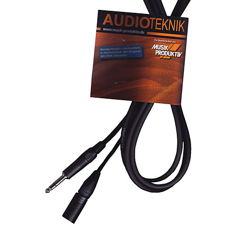Audiokabel AudioTeknik GSM 1,0 m black