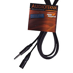 AudioTeknik GSM 1,0 m black « Câble audio