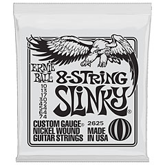 Ernie Ball 8-String Slinky 2625 .010-074 « Electric Guitar Strings