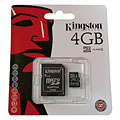 Digital Recorder Accessories Kingston 4GB microSDHC