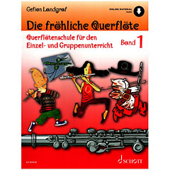Schott Die fröhliche Querflöte Bd.1 « Instructional Book