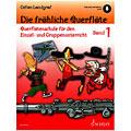 Libros didácticos Schott Die fröhliche Querflöte Bd.1