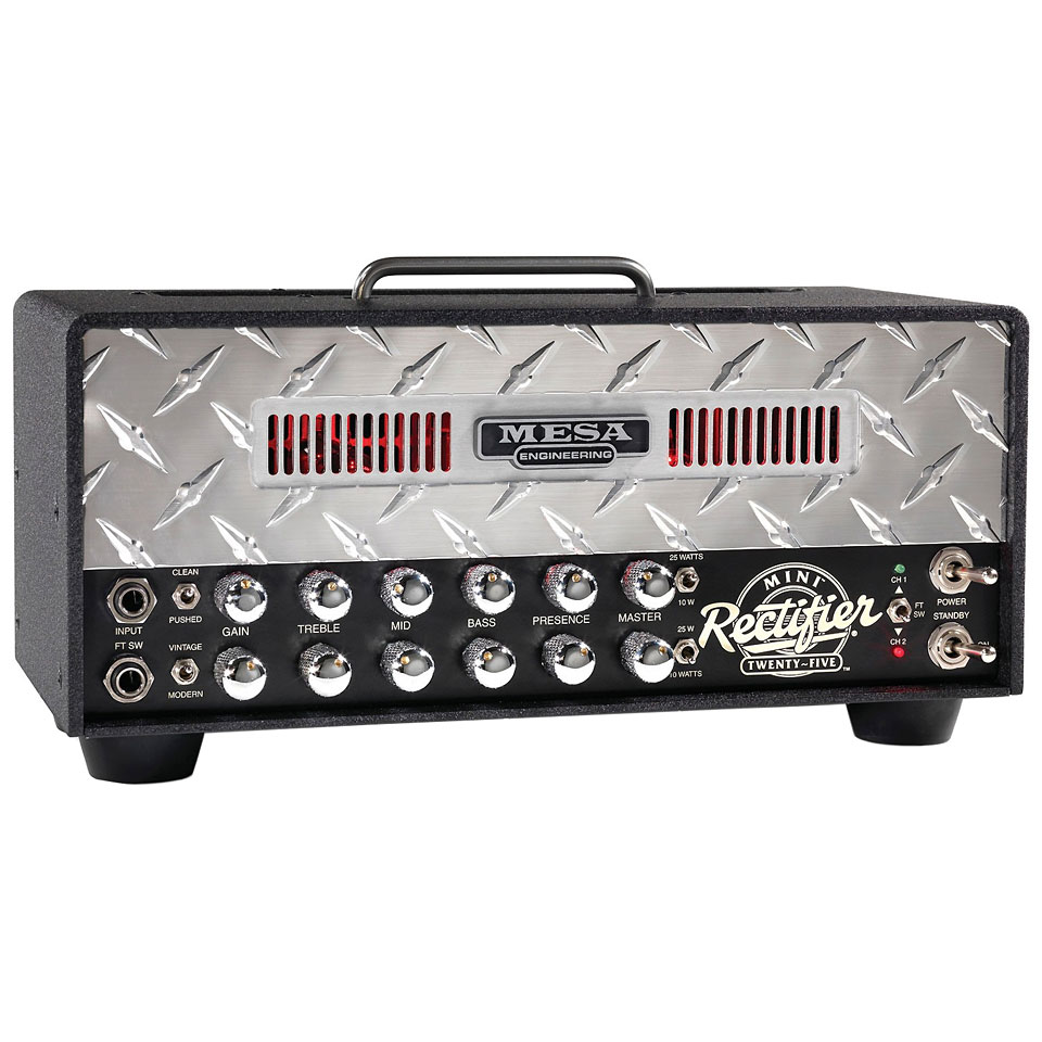 Mesa boogie mini rectifier twenty five cabezal guitarra for Amplificadores mesa boogie