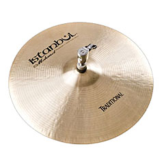 "Istanbul Mehmet Traditional 13"" Flat Bottom Hole HiHat « Cymbale Hi-Hat"