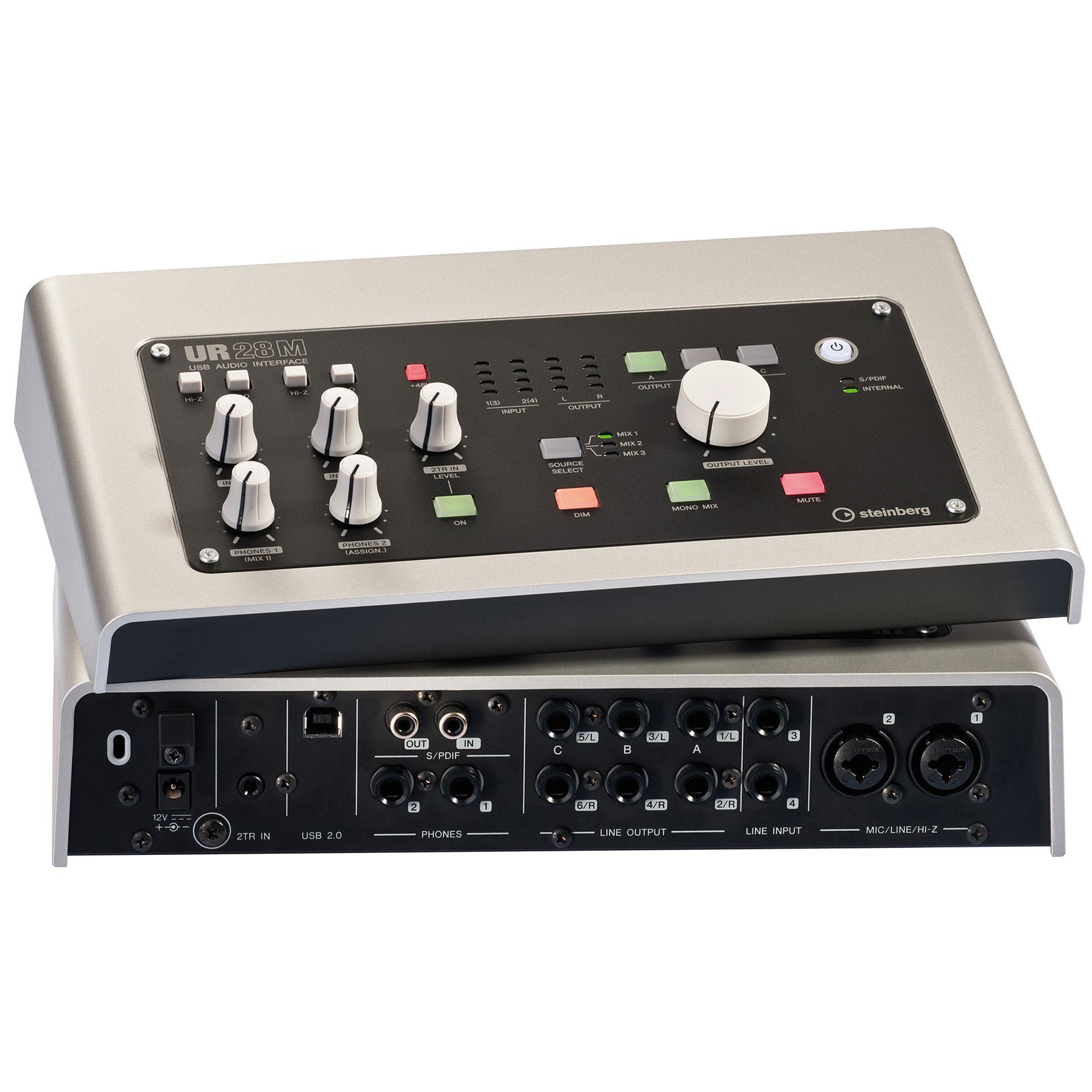 steinberg ur28m audio interface. Black Bedroom Furniture Sets. Home Design Ideas