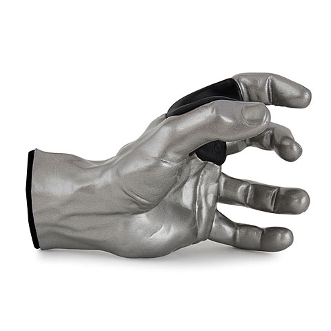 Gitaar-/Bashaak GuitarGrip Silver Metallic Male Hand Left