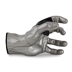 GuitarGrip Silver Metallic Male Hand Left « Soporte pared instr.