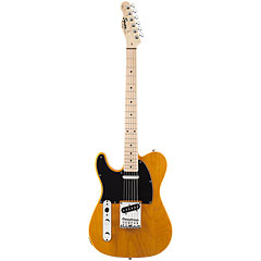 Squier Affinity Tele MN, Butterscotch Blonde  «  Guitare gaucher