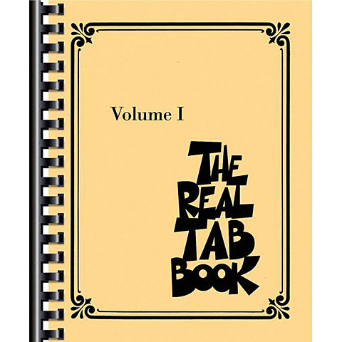 Cancionero Hal Leonard The Real Tab Book Vol. I