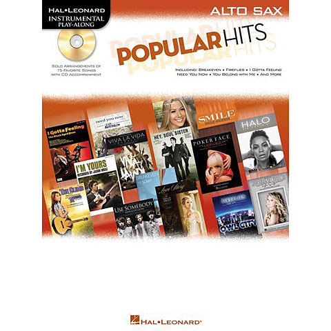 Hal Leonard Popular Hits for Alto Sax
