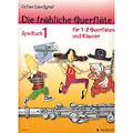 Libro de partituras Schott Die fröhliche Querflöte Spielbuch 1
