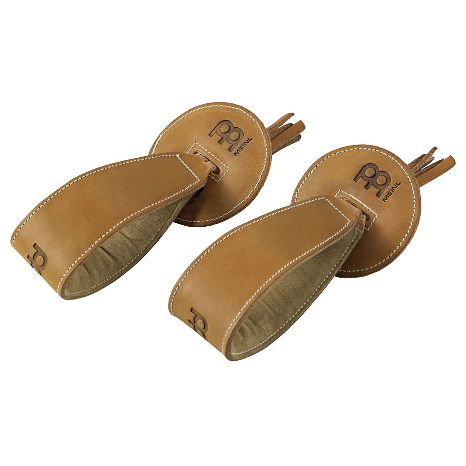 Marching - Meinl Concert Marching Cymbals Leather Straps with Pads Pair Marsch - Onlineshop Musik Produktiv