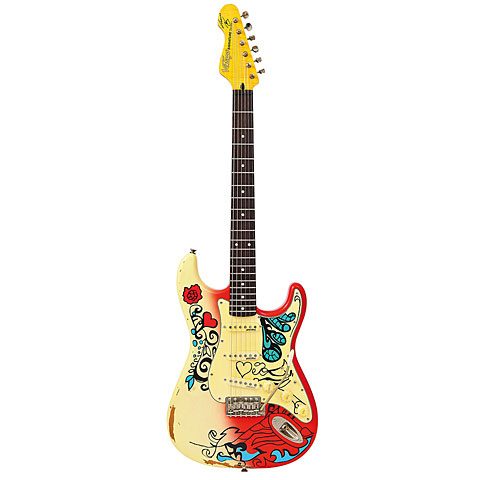 Vintage V6MRHDX Summer of Love « E-Gitarre